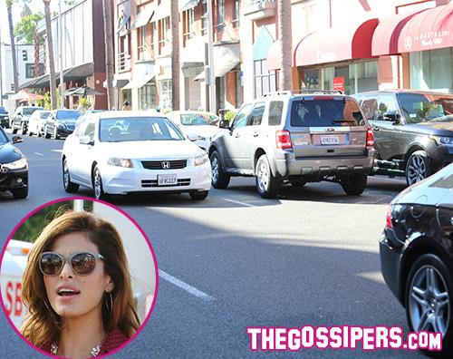 Eva Mendes 2 Eva Mendes guida contromano a Los Angeles