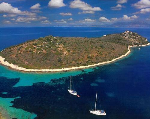 Isola Gaia Grecia Brad e Angelina comprano unisola in Grecia