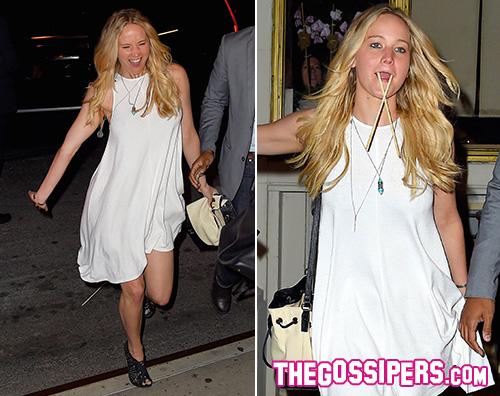 Jennifer Lawrence 2 Jennifer Lawrence è un tricheco a New York