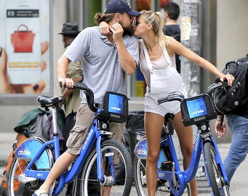 Leo e Kelly 2 Leonardo Di Caprio e Kelly Rohrbach innamorati a New York