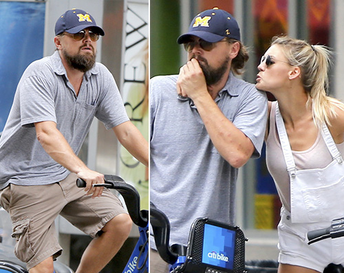 Leo e Kelly Leonardo Di Caprio e Kelly Rohrbach innamorati a New York