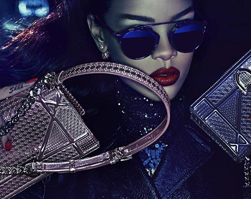 Rihanna Dior adv Rihanna a Tokyo per Dior