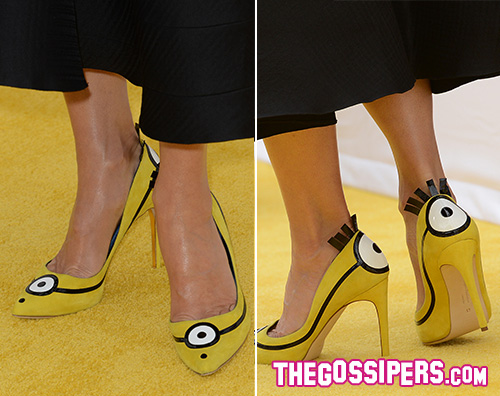 Sandra2 Sandra Bullock presenta Minions a Los Angeles