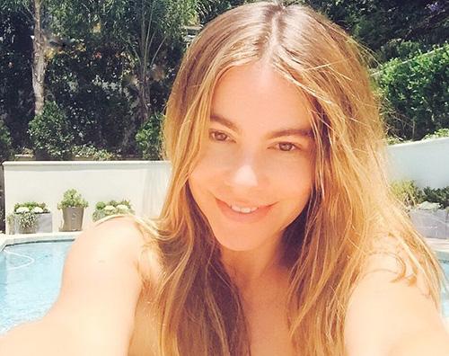 Sofia Vergara senza trucco Selfie senza trucco per Sofia Vergara