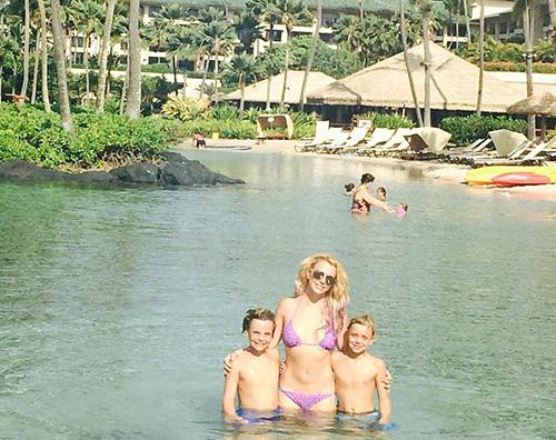 Britney Spears1 Britney Spears, una lettera ai suoi figli sul Time