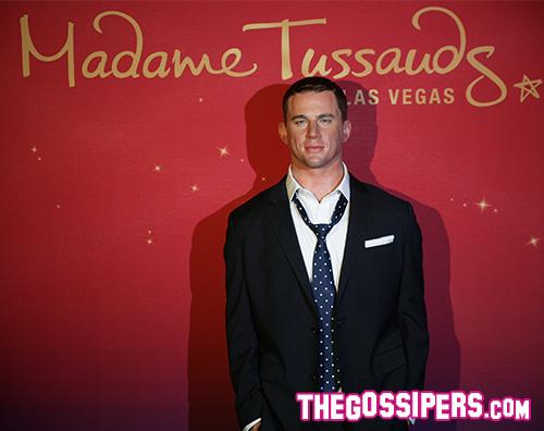 Channing Tatum Channing Tatum è una cera al Madame Tussauds