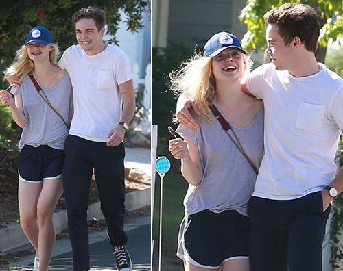 Elle Fanning Zalman Elle Fanning a Los Angeles col suo ragazzo