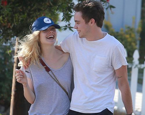 Elle Zalman Elle Fanning a Los Angeles col suo ragazzo