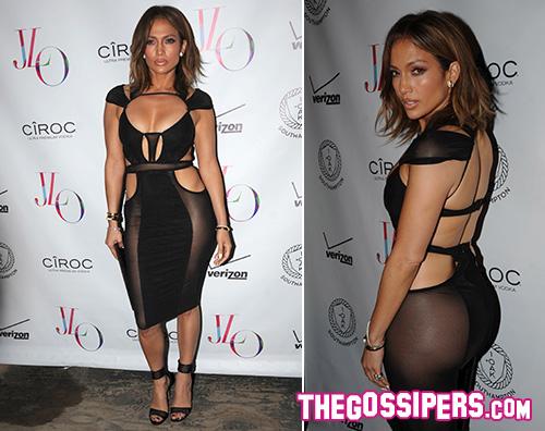 JLo Jennifer Lopez sexy per il suo party di compleanno