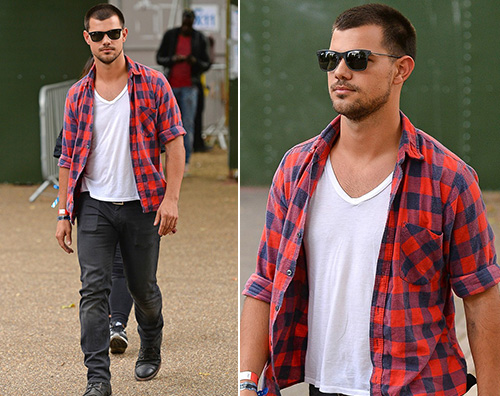 Jason Lautner Taylor Lautner, un boscaiolo a Londra