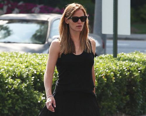 Jennifer Garner 2 Jennifer Garner porta ancora la fede