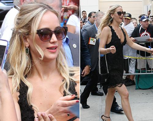 Jennifer Lawrence Jennifer Lawrence sexy per il Comic Con