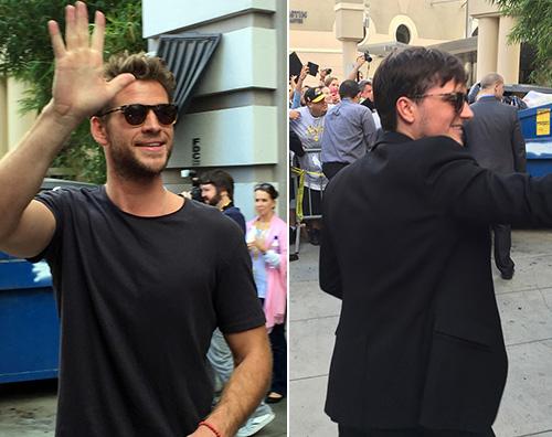 Josh e Liam Jennifer Lawrence sexy per il Comic Con