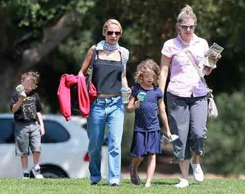 Nicole Richie figli Nicole Richie, mamma a tempo pieno