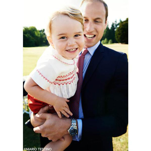 Principe George e William Il Principino George compie 2 anni