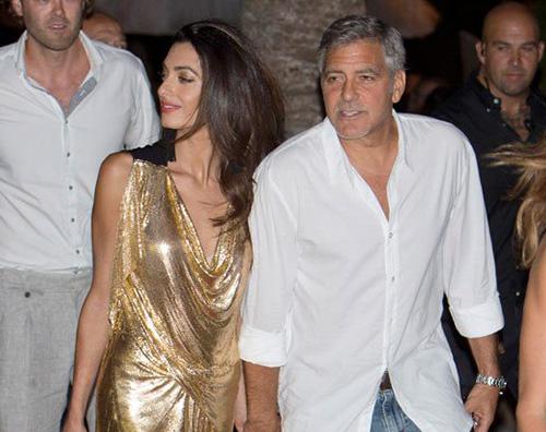 Amal Alamuddin George Clooney Amal Alamuddin troppo magra a Ibiza