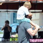 Ben e Samuel 2 150x150 Weekend in famiglia per Jennifer Garner e Ben Affleck
