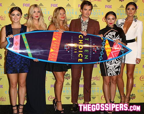 Cast Pretty Little Liars Teen Choice Awards 2015