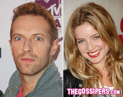 Chris Annabelle Una nuova donna per Chris Martin?
