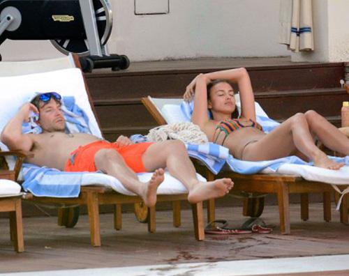 Irina Bradley Irina Shayk e Bradley Cooper arrivano a Capri