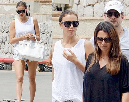Irina e Bradley1 Irina Shayk e Bradley Cooper arrivano a Capri
