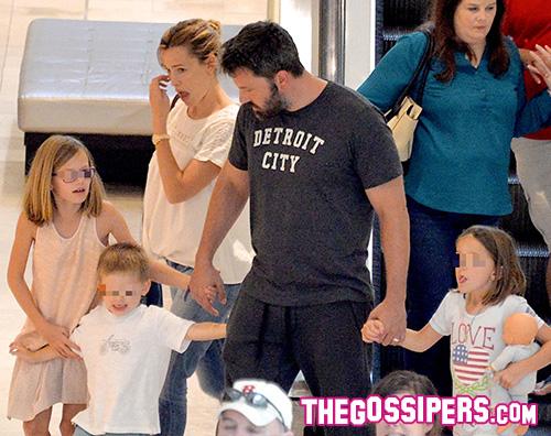 Jennifer e Ben cover Weekend in famiglia per Jennifer Garner e Ben Affleck