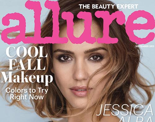 Jessica Alba Jessica Alba si racconta su Allure di settembre