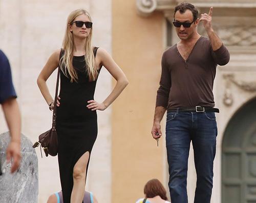 Jude Law1 Jude Law è un uomo sposato