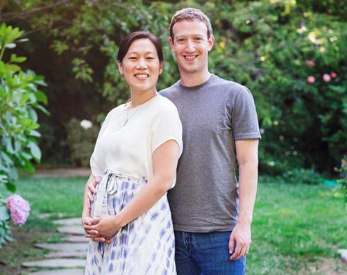 Mark e Priscilla Mark Zuckerberg e Priscilla Chan aspettano il secondo figlio
