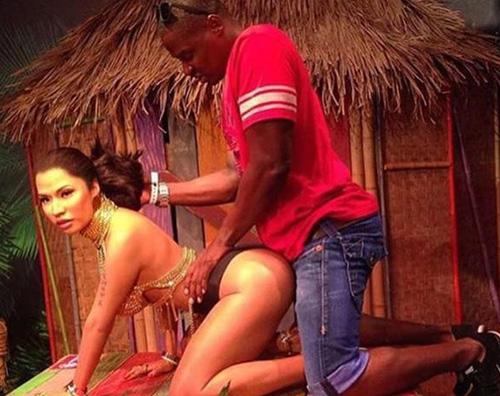 Nicki Minaj 3 La statua di Nicki Minaj attira maleducati al Madame Tussauds