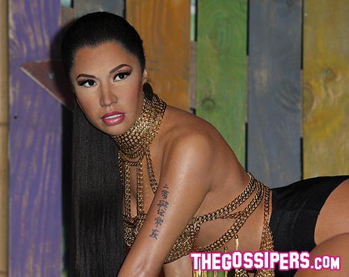 Nicki Minaj Nicki Minaj è una statua di cera a Las Vegas