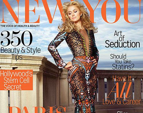 Paris Hilton Paris Hilton su New You: Mai ricorsa al Botox
