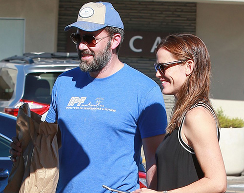 Bennifer Jennifer Garner e Ben Affleck al mercato insieme