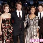 Cast 150x150 Amber Heard e Johnny Depp presentano The Danish Girl
