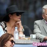 CatherineZetaJonesMichaelDouglas 150x150 Una schiera di celebrity per la finale del Grande Slam