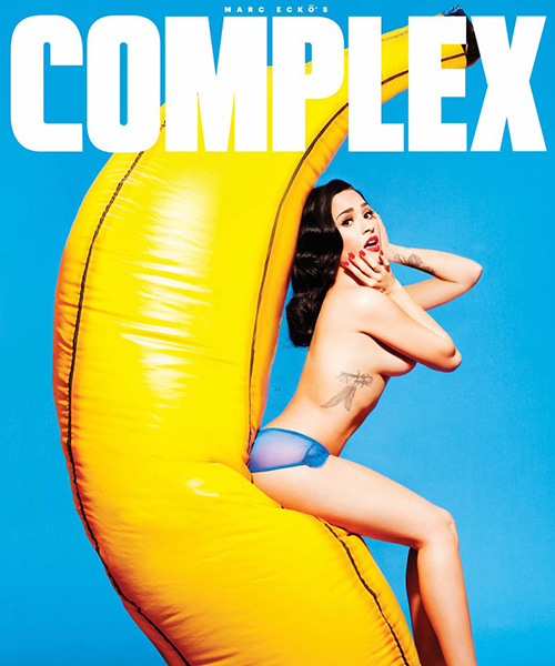 Demi Lovato 2 Demi Lovato è una Pin up su Complex Magazine