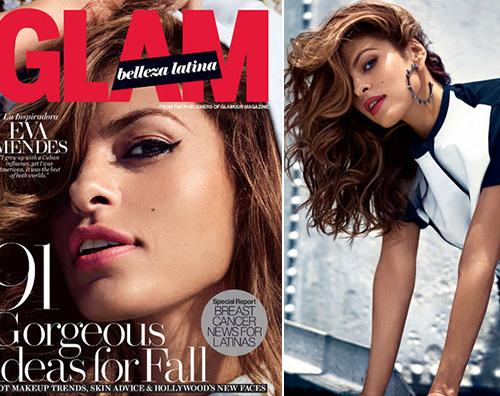 Eva Mendes 2 Eva Mendes protagonista su Glam Belleza Latina