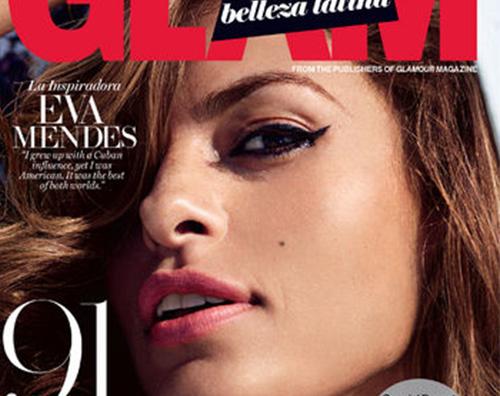 Eva Mendes Eva Mendes protagonista su Glam Belleza Latina