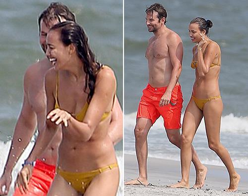 Irina e Bradley Bradley Cooper ha presentato Irina a sua madre