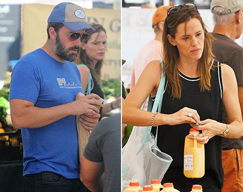 Jennifer e Ben1 Jennifer Garner e Ben Affleck al mercato insieme