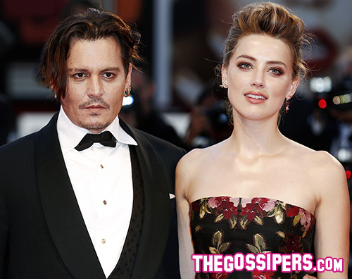 Johnny Depp e Amber Heard Amber Heard e Johnny Depp presentano The Danish Girl