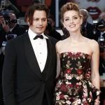 Johnny e Amber 150x150 Amber Heard e Johnny Depp presentano The Danish Girl
