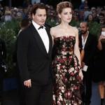 Johnny e Amber2 150x150 Amber Heard e Johnny Depp presentano The Danish Girl