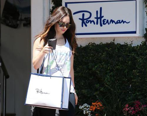 Megan Fox 2 Megan Fox fa shopping dopo la separazione da Brian