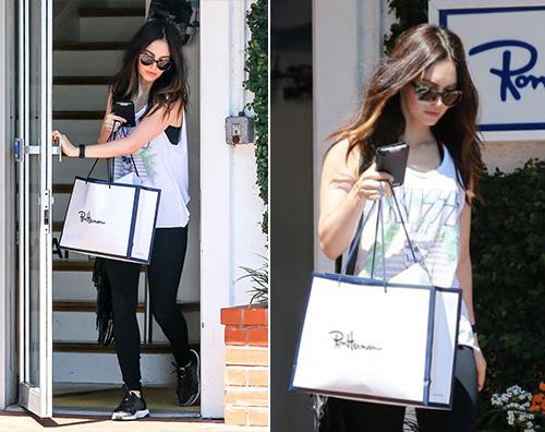 Megan Fox Megan Fox fa shopping dopo la separazione da Brian