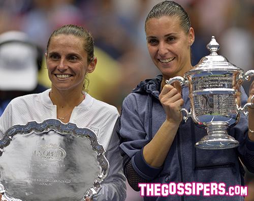 Pennetta Vinci Una schiera di celebrity per la finale del Grande Slam