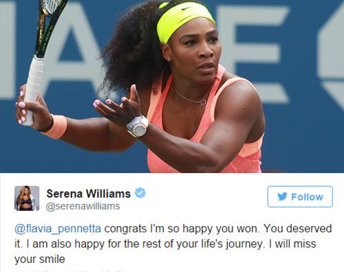 Serena Williams Una schiera di celebrity per la finale del Grande Slam