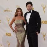 Sofia Vergara e Joe Manganiello 150x150 Emmy Awards 2015: gli arrivi sul red carpet