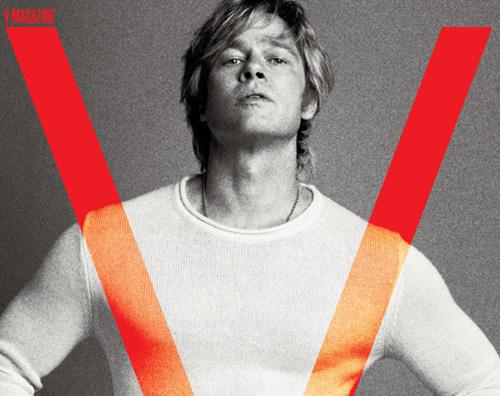 Brad Pitt 2 Brad Pitt si racconta su V Magazine