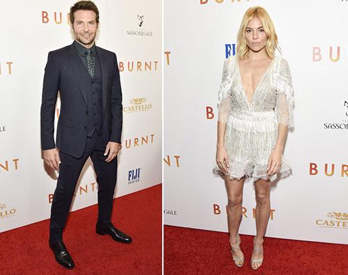 Bradley Cooper Sienna Miller 2 Bradley Cooper e Sienna Miller presentano Burnt a NY